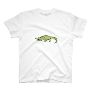 ワニグッズ T-shirts
