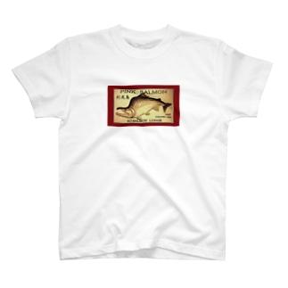カラフトマス!利尻島【セッパリ;PINK SALMON】生命たちへ感謝を捧げます。※価格は予告なく改定される場合がございます。 T-shirts