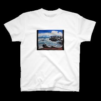 カンダナの冬の海岸 T-shirts