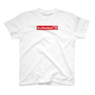 RuckusismボックスロゴT T-shirts