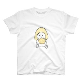 メロンパンが好きな子。(キイロちゃん) T-Shirt