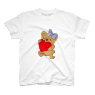 ラブベアちゃん T-shirts