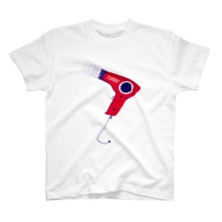レッドドライヤー T-shirts