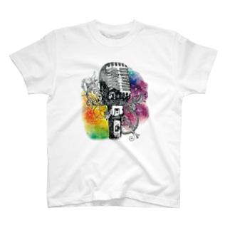 きのこのおうちのジェネステ(ロゴ無し) T-shirts