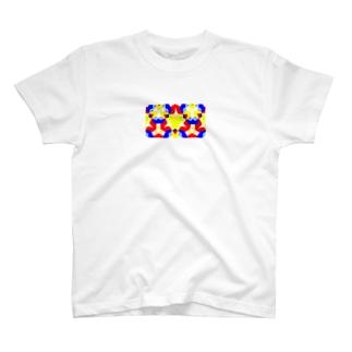 パンジー T-shirts
