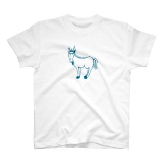 ロバ T-shirts