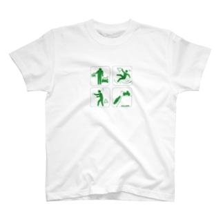 ラリーなリタイアピクト T-shirts