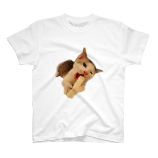 にゃんこは歯が命? T-shirts