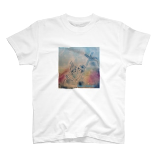 A sweet delfts couple-flower_mill T-shirts