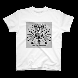 FINCH LIQUEUR RECORDSのChichiro紋 Tシャツ