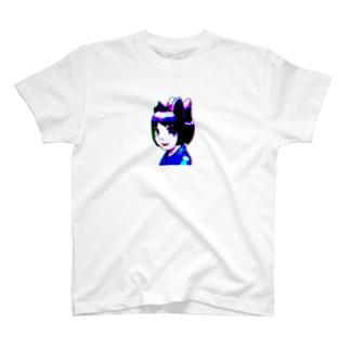 四つ耳猫娘 T-shirts