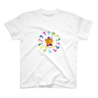ひどく迷っているクレコちゃん T-shirts