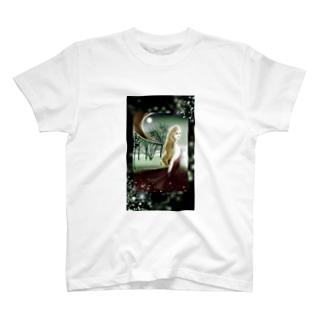 月の庭 T-shirts