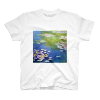 モネ 睡蓮 T-shirts