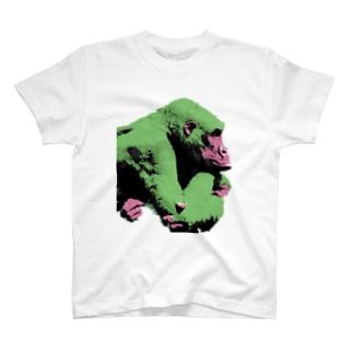Gorilla thinks  T-shirts