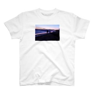 海とオレンジ T-shirts