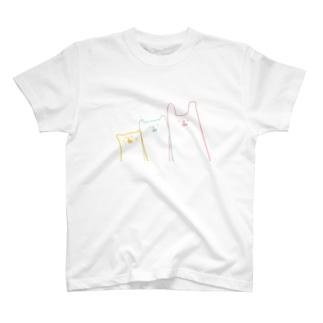 ゆるどうぶつTシャツ。 T-shirts