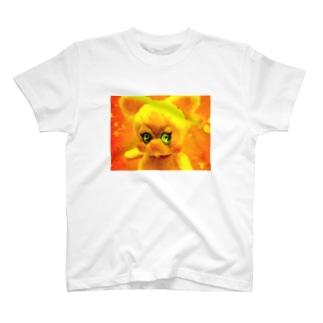 ねこぬいぐるみ T-shirts