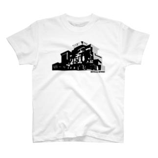 ラブホテル 外観 T-shirts