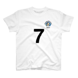 リードオフマン黒(オット用) T-shirts