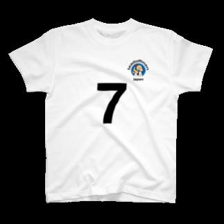 efrinmanのリードオフマン 黒(オット用) T-shirts