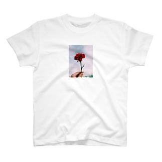 薔薇 T shirt T-shirts