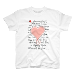 feel-free-Heart T-shirts