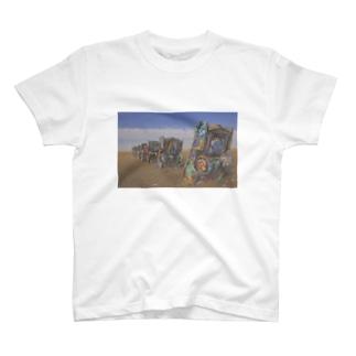 Cadillac Ranch T-shirts