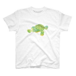昭島の銭湯の亀 T-shirts