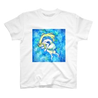 青い眠り T-shirts