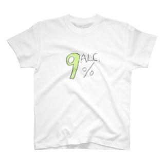 アルコール度数 T-shirts