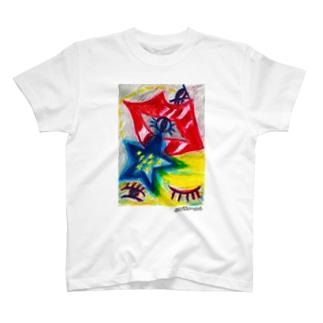 Desear a las estrellas~星に願いを~ Tシャツ