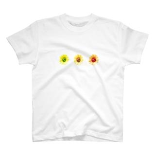 向日葵さんさん T-shirts