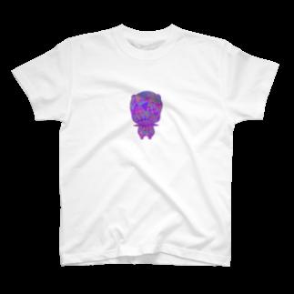 rucochanmanのanonchan camo T-shirt (B) T-shirts