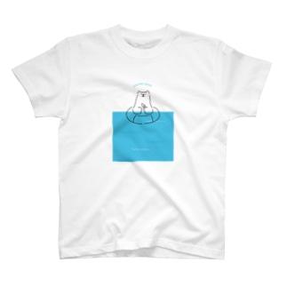 プカプカ《HINYARI BEARシリーズ》 T-shirts