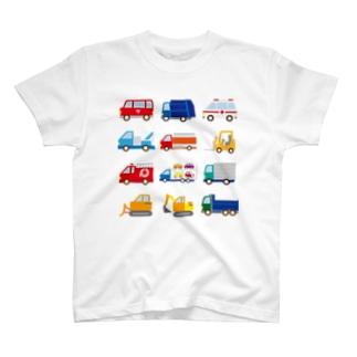 はたらくくるま T-shirts