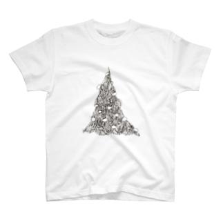 マーシャンツリー T-shirts