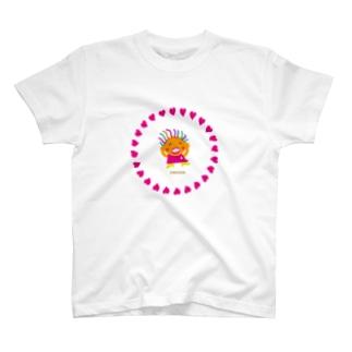 おっ疲れさまでした〜のクレコちゃん T-shirts