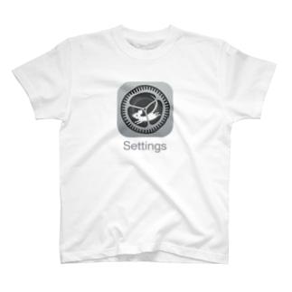 歯車とハツカネズミ T-Shirt