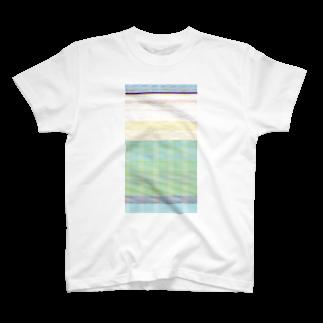 anq(バグ屋)のバグ_bluestripe T-shirts