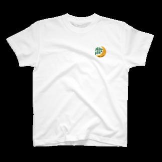 ベジタリアンタイ料理*ニコニコレストランのお店のnikoniko月シリーズ T-shirts