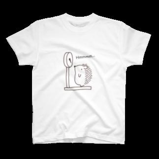 和田ありすの不思議なおみせのハリネズミの体重測定 T-shirts