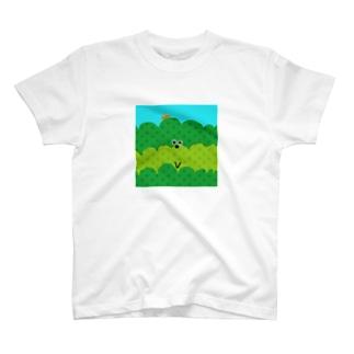 お茶畑くん T-shirts