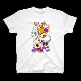 nins・にんずのモルモット大集合2 T-shirts