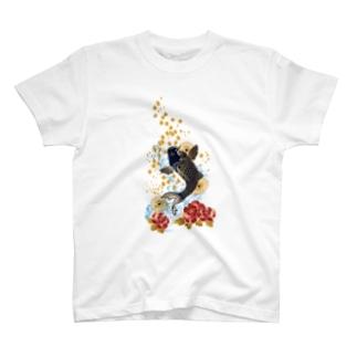 昇り鯉 T-shirts