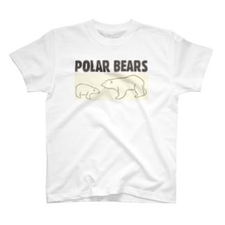 POLAR BEARS T-shirts