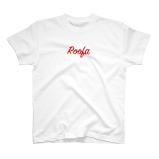 Roofa Red Logo T-shirts