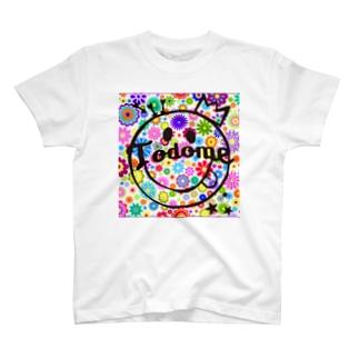 TODOME フラワー T-shirts