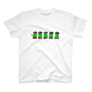 BOOKMAN'S GOODSのお口いろいろ T-shirts