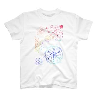 カラフルギター・マンドリン T-shirts